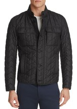 $595 NEW MENS HUGO BOSS CAMANO WATER REPELLENT QUILTED NYLON FIELD JACKE... - $296.99