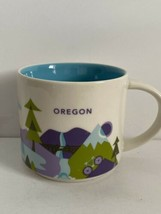 Starbucks Oregon You Are Here YAH Series Coffee Tea Mug Cup 2015 14oz - $12.00