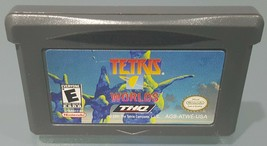MS) Tetris Worlds (Nintendo Game Boy Advance, 2001) Cartridge ONLY - $9.89
