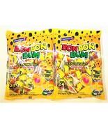 Colombina Bon Bon Bum Lollipops Passion Fruit 24 Lollipops per Bag 2 Pack - $14.84