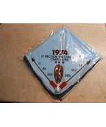 1974 1ST SECTION 5-B CONCLAVE CAMP KLINE NECKERCHIEF WWW B.S.A. NEW  NP01 - $16.95