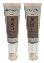 Lot of 2, Revlon PhotoReady Candid Anti-Pollution Foundation 560 Espresso - $9.49