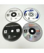 Ps1 Playstation Video Game Lot 4 Game Bundle 2xtreme NBA Live GTA2 Beast... - $21.99