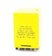 Amf Potter & Brumfield CLA-41-70120 Time Delay Relay 120VAC, CLA4170120 - $35.99