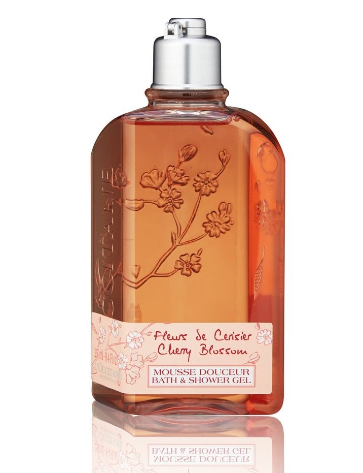L'OCCITANE Cherry Blossom Bath & Shower Gel  8.4oz