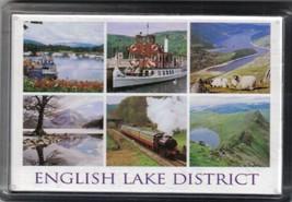English Lake District Souvenir Magnet from UK Vacation John Hinde Designs - $5.69