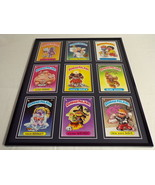 Garbage Pail Kids Framed 16x20 Display Weird Wendy New Wave Dave Potty S... - $74.44
