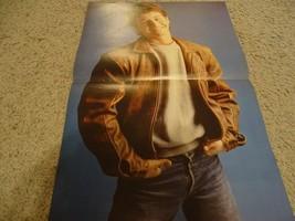 Kirk Cameron Ralph Macchio Billy Huffsey teen magazine poster clipping b... - $4.00