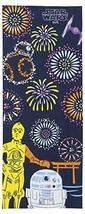 Star Wars Japan Towel Tenugui Summer Festival 100% Cotton Limited Japan - $30.84