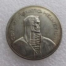 Hobo Nickel style Switzerland Fantasy token - $7.69