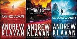 Andrew Klavan MINDWAR TRILOGY Young Adult Christian Sci-Fi Series Books 1-3 - $24.99