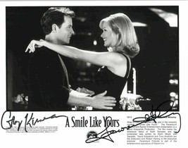 "Greg Kinnear & Lauren Holly Signed Autographed ""A Smile Like Yours"" Glos... - $24.99"