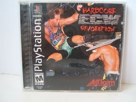 ECW Hardcore Revolution PlayStation PS1 Video Game Complete Tested Works - $12.06