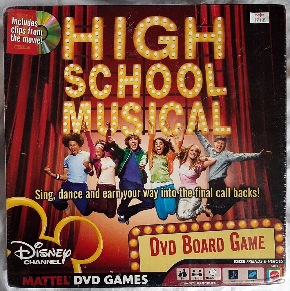 Primary image for High School Musical DVD Board Game 2006 Edition