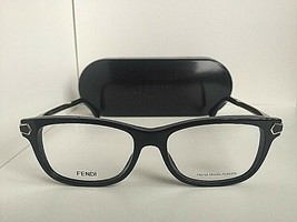 New FENDI FF 0037 7US Black Rx 52mm Women's Eyeglasses Frames Italy - $149.99