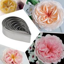 Cake Mold Cutter Set Rose Flower - $8.90