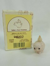 Precious Moments Tubby's First Christmas 525278 Addition to Mini Nativit... - $12.95