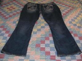 Silver jeans Suki Bootcut size 24 x 32 Women's Plus blue denim thick sti... - $47.49