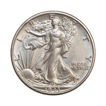 1943 S Walking Liberty Half Dollar - Gem BU / MS / UNC - $55.00