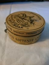 Vintage Propert's Leather & Saddle Soap Tin England has Cloth and Soap image 7