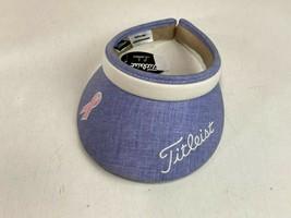 Titleist Golf Tour Ladies Clip Visor Women Ladies Sun cap Blue/Purple Color - $24.74