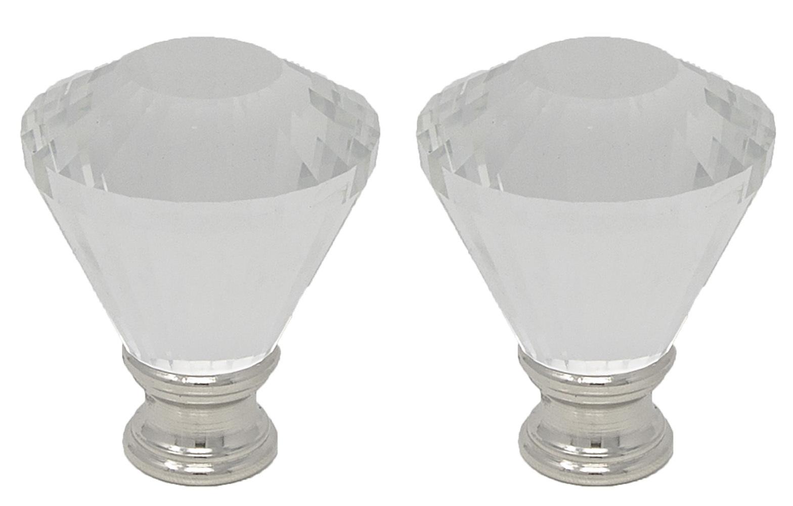 "Urbanest Crystal Diana Lamp Finial, 2"" Tall image 4"