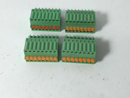 LOT of 4 RS485 RS-485 8-Pin Connector Pin DVR NVR Input Plug RX TX Pair ... - $19.79