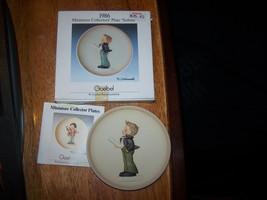 NIB 1986 Goebel Miniature Collector's Plate Soloist Little Music Makers ... - $6.58