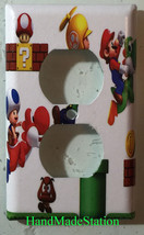 Super Mario brothers 3D Light Switch Duplex Outlet Wall Cover Plate home decor image 2