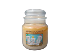 Yankee Candle 14.5 oz Merry Marshmallow Medium Jar Candle Discolored - $22.89