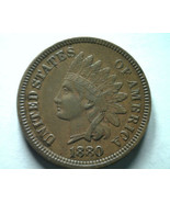 1880 INDIAN CENT PENNY EXTRA FINE+ XF+ EXTREMELY FINE+ EF+ NICE ORIGINAL... - $36.00