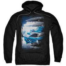 Power Rangers - Blue Zord Poster Adult Pull Over Hoodie Officially Licensed Appa - $34.99+