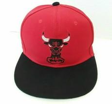 Chicago Bulls Windy City New Era Hardwood Classics 59Fifty Red Cap Hat S... - $10.36