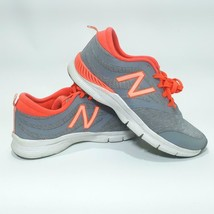 Women's NEW BALANCE Gym Shoes Sneakers - Sz 9.5 - Gray / Coral - WX715GM2 - $30.95