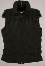 NINE WEST Puffer DOWN Quilted Vest Jacket Sz L - $33.00