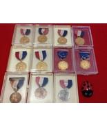 1957-67 AAU Region 6 Championship Junior Olympics Indiana Swimming Medal... - $60.00