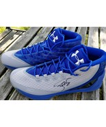 Stephen Curry Signed Under Armour Shoes Size 13 - Global Authentics - $699.99