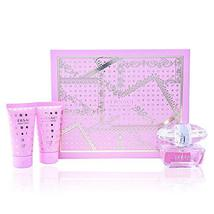 Versace Bright Crystal 3 Piece Gift Set For Women Brand New - $64.52