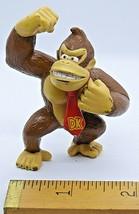 DK Donkey Kong PVC Mini Figure arm raised Nintendo 2008 - $10.89