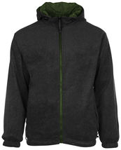 LAX Men's Premium Water Resistant Security Reversible Jacket With Removable Hood image 15