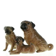 Hagen Renaker Pedigree Dog Pug Large Tan Ceramic Figurine image 12