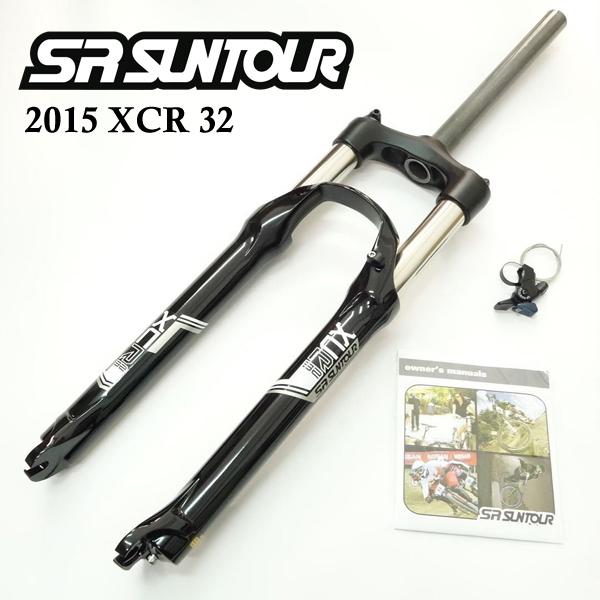 """SR Suntour 27.5 XCM LO 1 1//8/"""" Fork w//Lock Out Bike"""