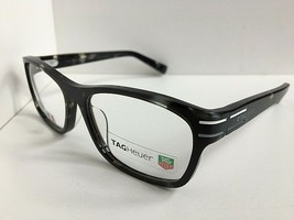 New TAG Heuer TH 0534 534 002 53mm Black Men's Eyeglasses Frame France  - $229.99