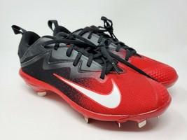 NIKE Vapor Ultrafly Pro Metal Baseball Cleat Black/Red  Size 7  852696-016 - $37.95