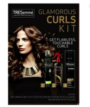 Tresemme Glamorous Curls Kit 3 Step Prep Style Finish Flawless Touchable... - $21.99