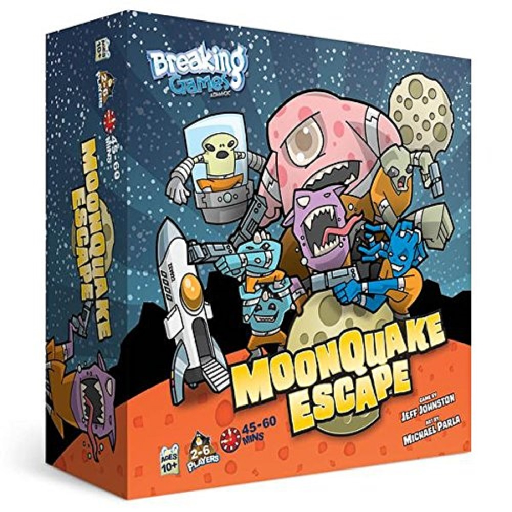 Moonquake Escape by Breaking Games