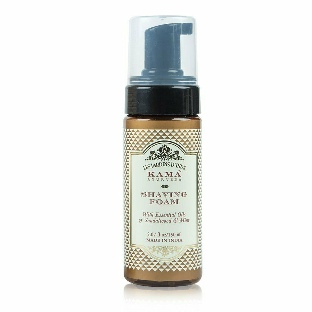 Kama Ayurveda Shaving Foam Potent Blend of Bbotanicals For A Smooth Shave 150ml