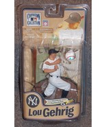 2011 McFarlane MLB Cooperstown Collection NY Yankees Lou Gehrig Figure NIP - $39.99