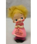 Berries Figurine: I'm Sorry 1970 Psychedelic Psychedelia Doll Groovy - $12.59