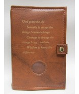 AA Alcoholic Anonymous Deluxe Tan Double Book Cover - $28.34